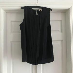 Michael Kors Pleated Blouse Black Size M